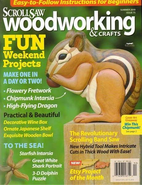 ScrollSaw Woodworking & Crafts - Summer 2019