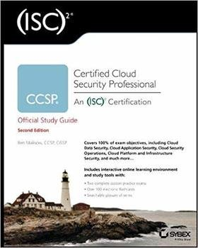 CCSP (ISC)2 Certified Cloud Security Professional Official Study Guide, 2nd Edition