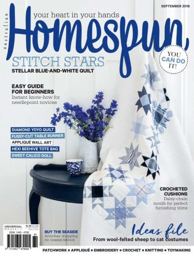 Australian Homespun № 184 2018