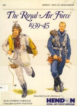 Osprey Men-at-Arms 225 - The Royal Air Force 1939-45